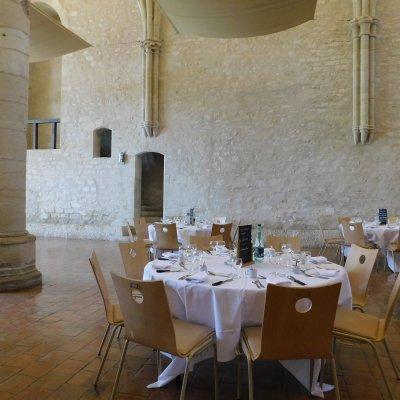 Déjeuner de travail abbaye de Noirlac